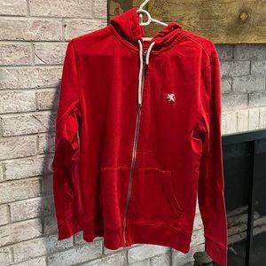 Men's express zip up hoodie